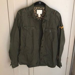 Forever 21 Light Army Jacket